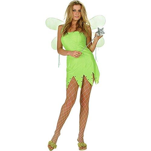 Sexy Tinker Bell Dress (Sz: Medium/Large 6-10) - Green Tinkerbell Dress