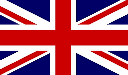 Jack Flag Stickers - 4x UK Great Britain British Union Jack United Kingdom Flag Auto Decal Bumper Sticker Car Truck Boat RV Window