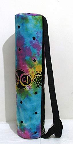 - ICC Buddha Chakra Mandala Full-Zip Exercise Yoga Mat Carry Bag Gym Beach Pilates Carrier Bags Hippie Mandala Indian Cotton Bag