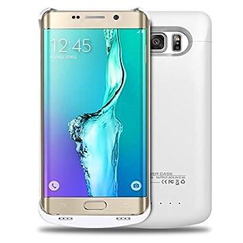Galaxy S6 Edge Plus Carcasa de batería externa kujian 4200 ...