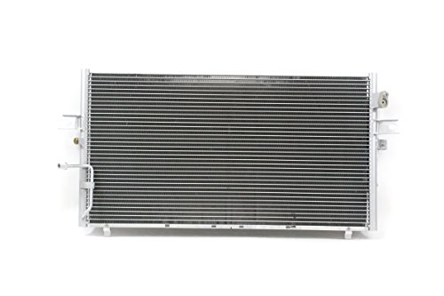 A-C Condenser - Pacific Best Inc For/Fit 3061 02-04 Infiniti I35 02-03 Nissan Maxima WITHOUT Receiver Dryer & Sensor
