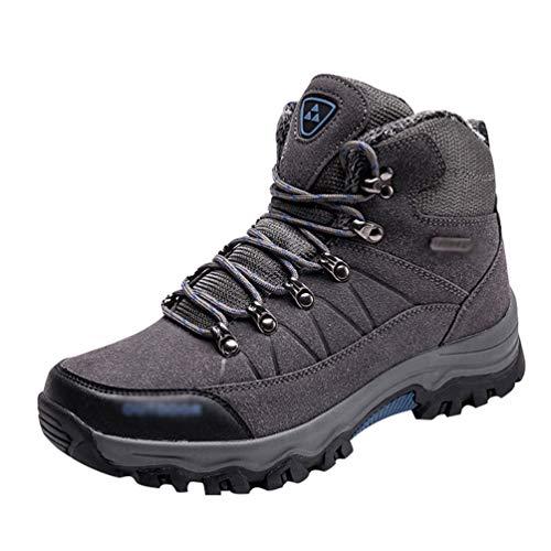 Professionnel De En Marche Yuanu Antidrapant Gris Chaussures Air top Plein Trekking Hommes Haut Antichoc Sneaker Randonne nvvEx6pIq