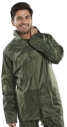 B Dri Weatherproof Nylon B-Dri Jacket Olive - Large