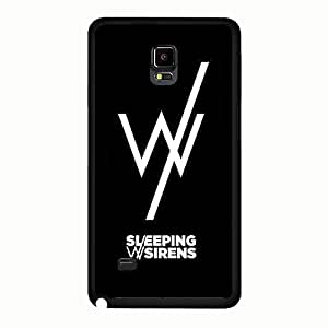 Samsung Galaxy Note 4 Case Fantasy Mint Sleeping With Sirens Phone Case Back Protective Shell Cover for Samsung Galaxy Note 4 Popular Fantastic Sleeping With Sirens Case