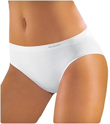 Nero Possibilit Slip Offerta Cuciture Con E 6 Bianco Naturale Sgambato In Elasticizzata Donna Colori Senza Tassello Cotone Microfibra Confezione Da vHavxqwr