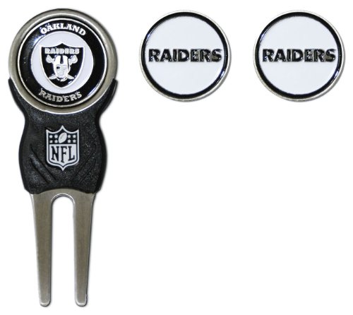 NFL Oakland Raiders Divot Tool Pack With 3 Golf Ball (Raider Pack)