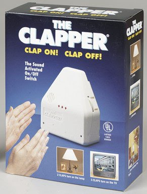 The Clapper Cl840-12 Sound Activated Switch, 120 Volts, White
