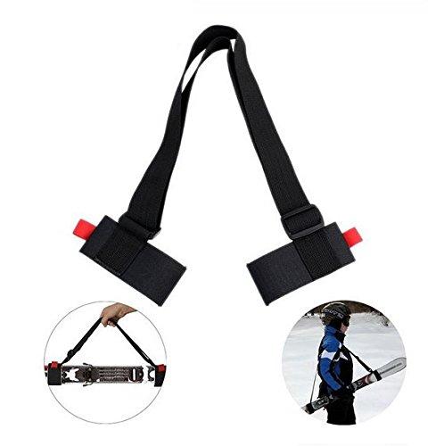 BerryKing EasySki Ski bretelle Ski Fixation Porte-/Épaules R/églable Syst/ème de Transport de Skis