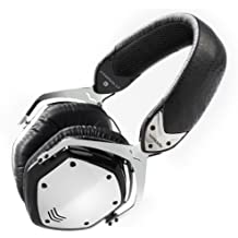 V-MODA Crossfade LP Over-Ear Noise-Isolating Metal Headphone (Phantom Chrome)