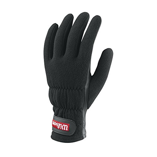 Wilson Platform Winter Glove, Black, Large (Tennis Platform Gloves)