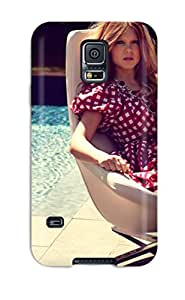 Fashionable Style Case Cover Skin For Galaxy S5- Young Lady