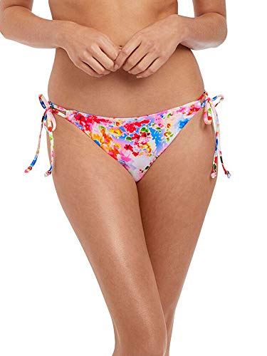 Freya Endless Summer Rio Side Tie Bikini Bottom, M, Confetti