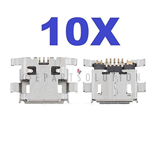 ePartSolution_Lot of 10 USB Charger Charging Port Dock Connector USB Port for ZTE Blade L2 Replacement Part USA Seller