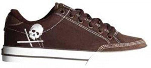 Circa Skateboard Schuhe- ALW50- ChocolateWhite/Skull