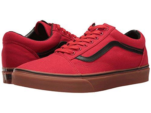 Vans Männer Old Skool Core Classics rot schwarz