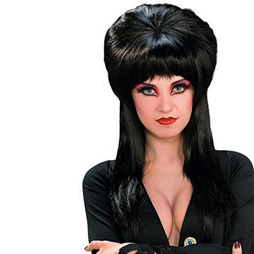 Fun Express - Elvira Deluxe Wig for Halloween - Apparel Accessories - Costume Accessories - Wigs & Beards - Halloween - 1 Piece]()