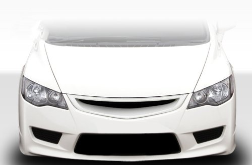 Duraflex Replacement for 2006-2011 Honda Civic 4DR JDM Type JS Type R Conversion Grille - 1 Piece ()