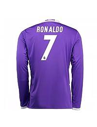 2016-2017 Real Madrid Adidas Away Long Sleeve Shirt