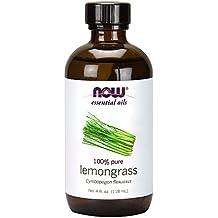 Now Foods Lemongrass Oil, 4 Ounce