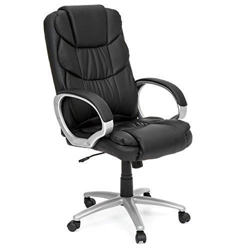 Best Choice Products Ergonomic PU Leather High Back Executive Office Chair   BlackBest Ergonomic Office Chairs  Amazon com. Ergonomic Desk Chairs Amazon. Home Design Ideas