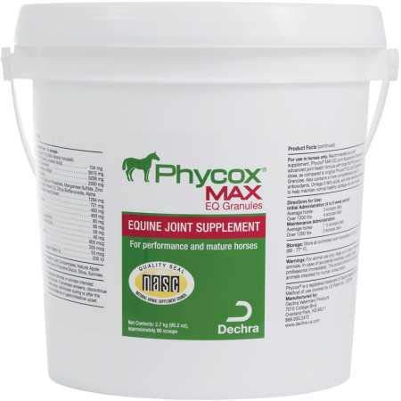 Dechra Phycox Max EQ Joint Support Granules for Horses, 2700 g by Dechra