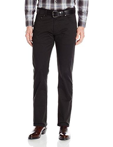 Wrangler Men's Retro Slim-Fit Straight-Leg Jean, Black, 3...