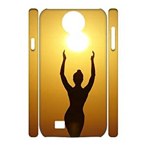Beautiful Sun Custom 3D Case for SamSung Galaxy S4 I9500, 3D Personalized Beautiful Sun Case by lolosakes
