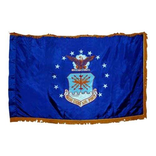 Air Force Flag 5X8 Foot Nylon PH and FR ()
