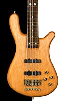 Warwick Custom Shop Streamer Stage II 5 String Bass, Natural Oil