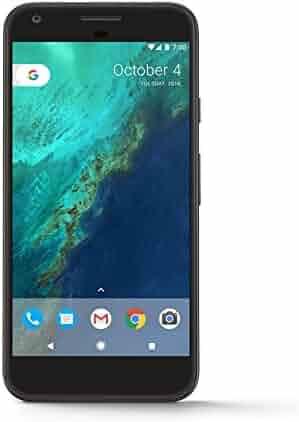 Google Pixel Phone - 5 inch display ( Factory Unlocked US Version ) (32GB, Quite Black)