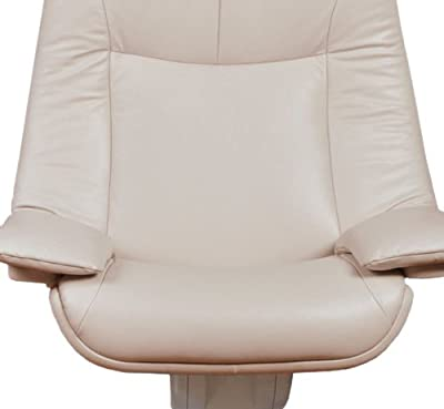 Natuzzi RE-VIVE Performance Recliner and Ottoman