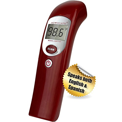 Advocate Non-Contact Infra-Red Thermometer, Case of 15 by DollarItemDirect