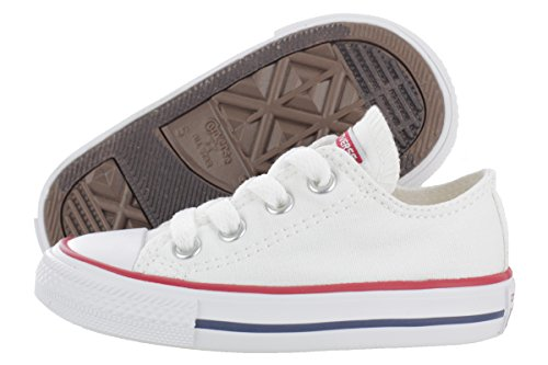 Converse Infant Chuck Taylor All Star 7J256 Ox Optic White Infant Size 8 - Boys White Converse