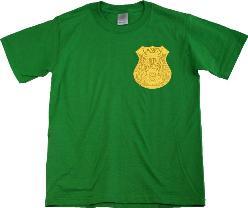Ann Arbor T-shirt Co. Unisex-child LAWN ENFORCEMENT OFFICER T-shirt