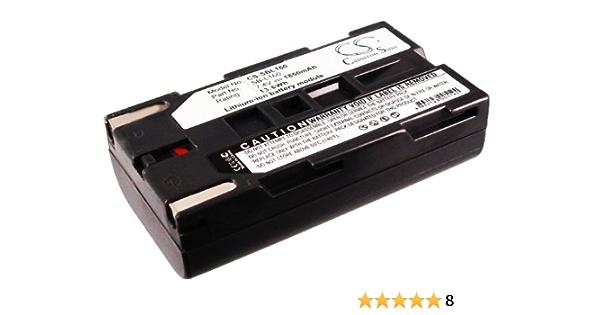 AccuCell Bater/ía para Samsung SB-L110 SB-L70 Color Negro