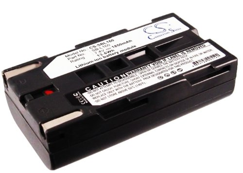 Cameron Sino Replacement Battery for Samsung SCL810, SCL860, SCL870, SCL901, SCL903, SCL906, SCL907, SCW80, SCW87, SCW97, VP-L500, VP-L520 (1850mAh)