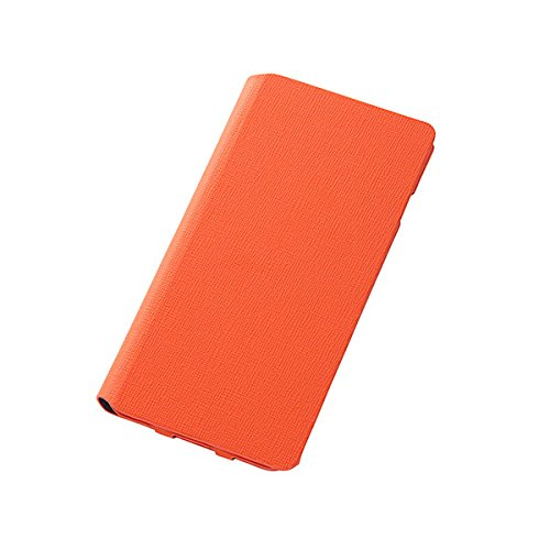 Colorful Slim Leather Style Case for iPhone 6 Plus (Orange)