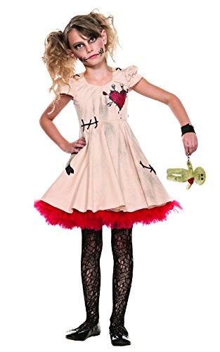 Children's Voodoo Doll Costume (SR40101 (Girls XL) Girls Voodoo Doll Dress)