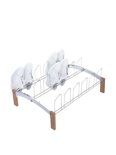 Organize It All Concord 9-Pair Shoe Rack