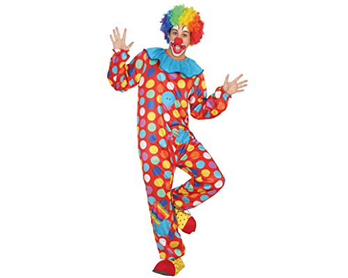 (Atosa 16466 - Clown Mens Costume, Size M/L)