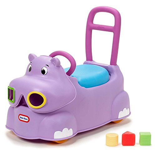 Little Tikes Scoot Around Animal Ride-On - Hippo by Little Tikes