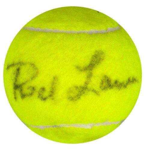Rod Laver Autographed Wimbledon Tennis Ball - SM - JSA Certified - Autographed Tennis Balls