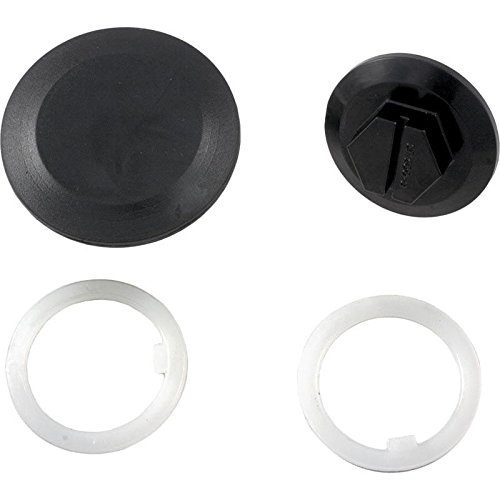 Hayward CLX200EGA Cover Retaining Screw with Slip Washers and Center Cap Replacement for Hayward Chlorine Chemical Feeder