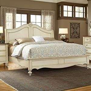 American Woodcrafters Chateau Sleigh Bed