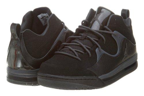 Jordan Flight TR97 MID Mens Sneakers 574417 (US Mens 7.5 D Medium, White/ Deep Royal BLue-Bright Citrus)