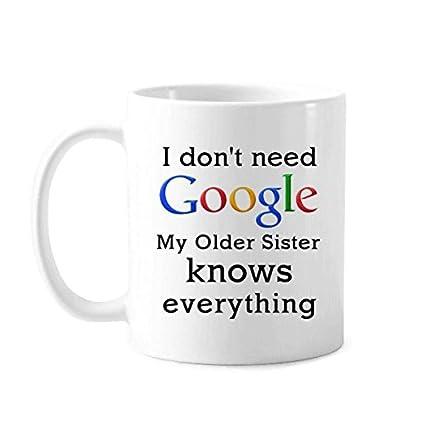 Amazon.com | 11OZ White mugs Best Funny Quotes mugs Older ...