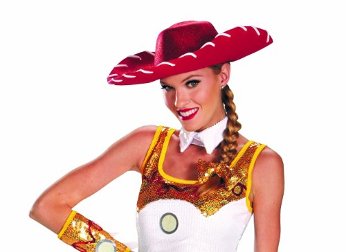 JESSIE GLAM COSTUME HAT & BOW SET (Toy Story Jessie Hat)