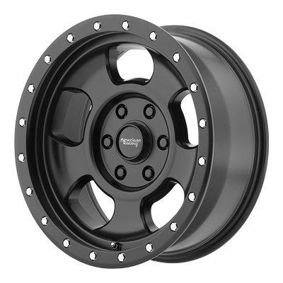 - American Racing AR969 Ansen Off Road Satin Black Wheel (15x8