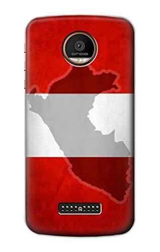 Peru Flag Funda Carcasa Case para Motorola Moto Z Force, Z ...