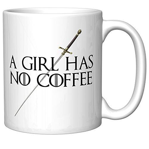 Girl Needle (A Girl Has No Coffee With Needle (Arya Stark, Game of Thrones))